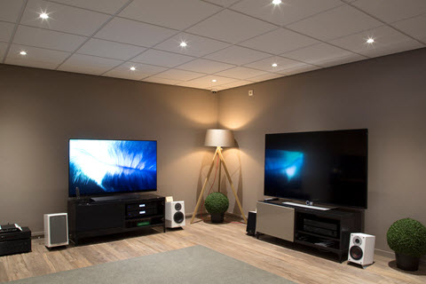 TV, soundbars, surround